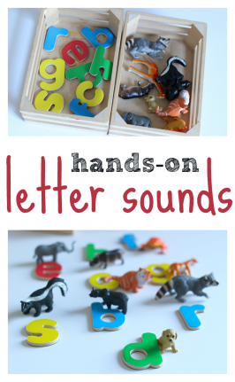 Hands-On Letter Sounds Activity