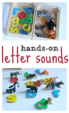 letter sounds activity for pre-kindergarten and kindergarten