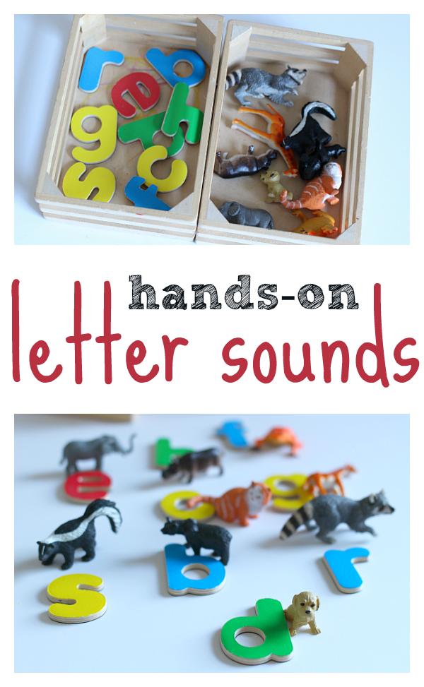Magnetic Alphabet Letters Activity