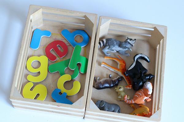 letter sounds activity for kindergarten and preschool