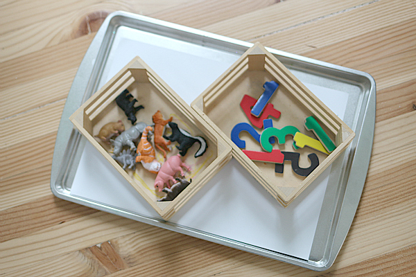 syllable matching tray