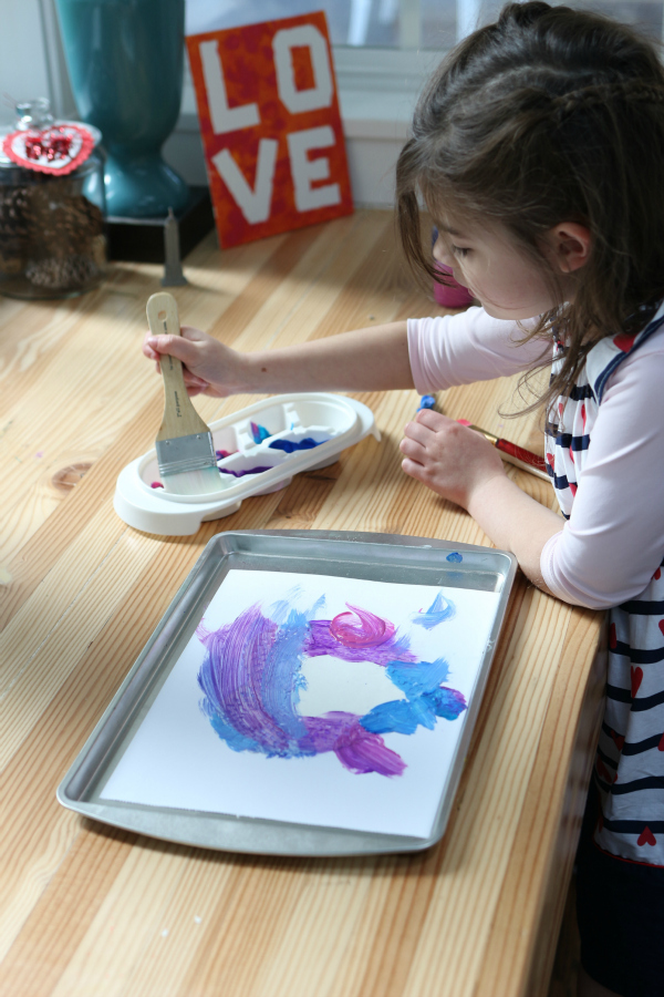 valentine's day art project for kids