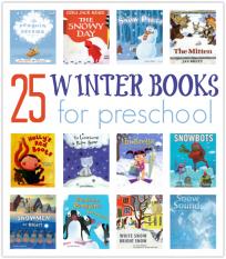 list of winter books for preschool