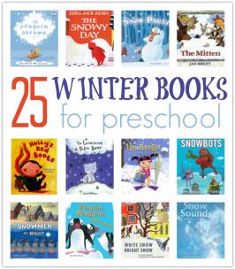25 Winter Books For Preschool