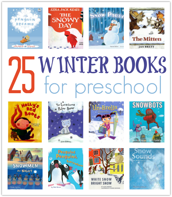 25 Winter Books For Preschool - No Time For Flash Cards