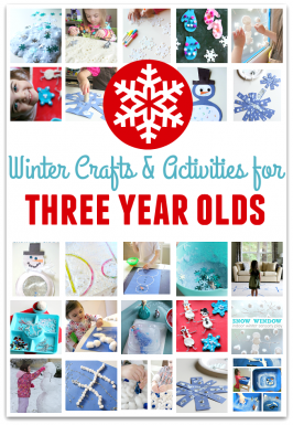 22 Winter Crafts For Three Year Olds