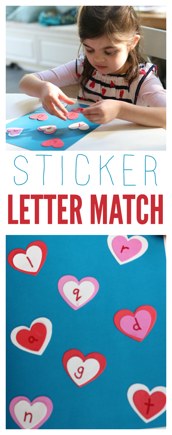 STICKER LETTER MATCH