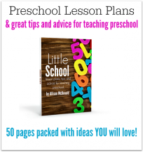 lesson plans for preschool