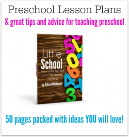 Lesson Plans For Preschool ebook!