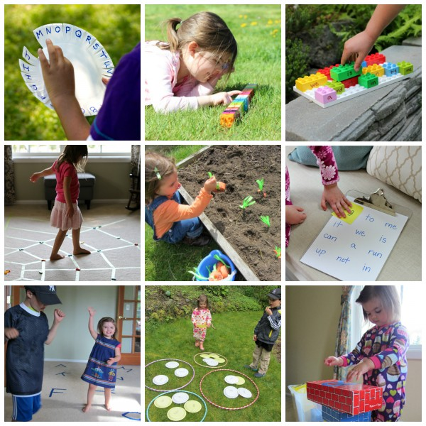 literacy activities that get kids moving