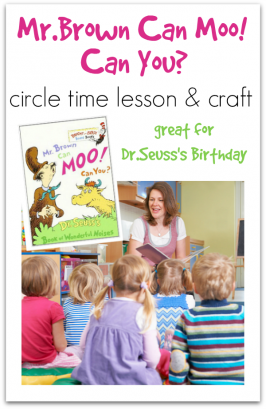 Dr. Seuss's Mr. Brown Can Moo! Can You? Lesson Plan