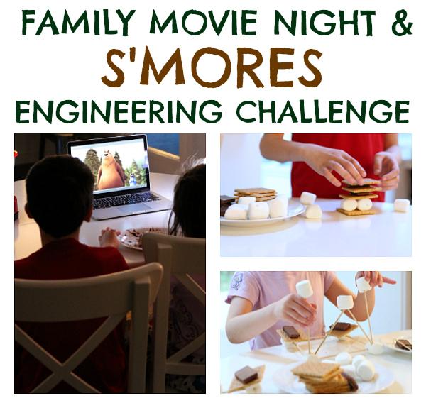 S'mores STEM challenge