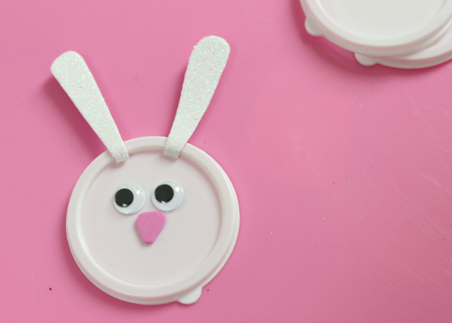 bunny playdough gifts for easter baskets