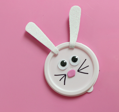 Easter bunny play dough no time for flash cards bunny treat easter basket filler for preschool easter gift class negle Gallery