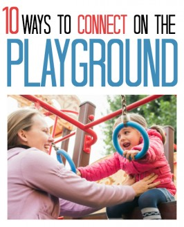 Great article about how to connect with kids on the playground during recess.