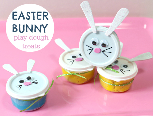 Easter bunny play dough no time for flash cards easter play dough for preschool negle Image collections