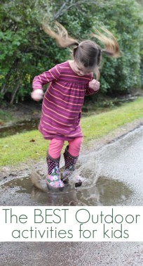 get outside and play - 21 ways to play outside
