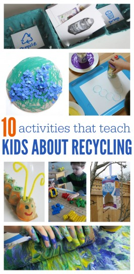 10 Activities That Teach Kids About Recycling