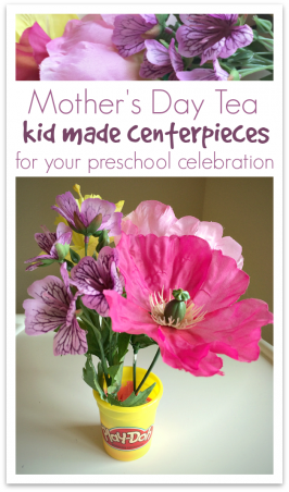 Mother's Day Tea Centerpieces – Easy Mother's Day Craft