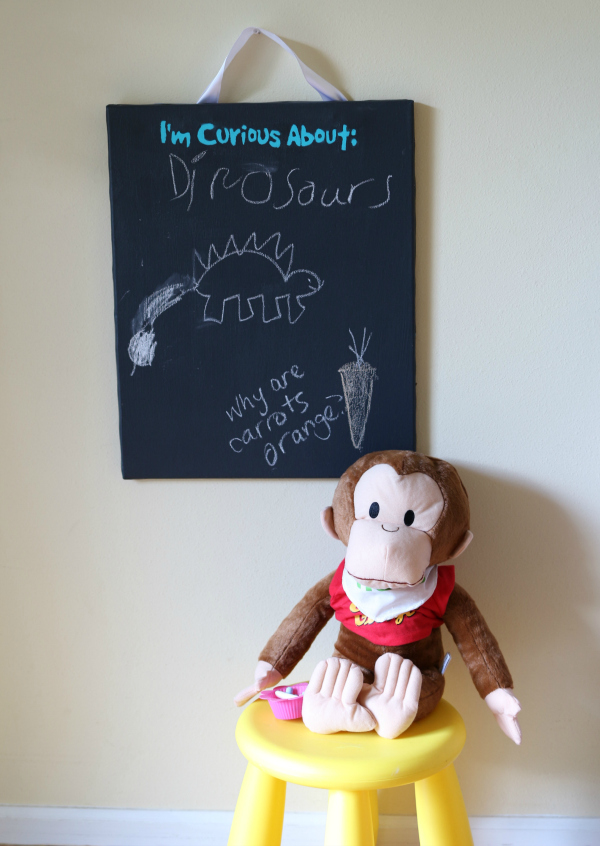 curious george curious board for curious kids