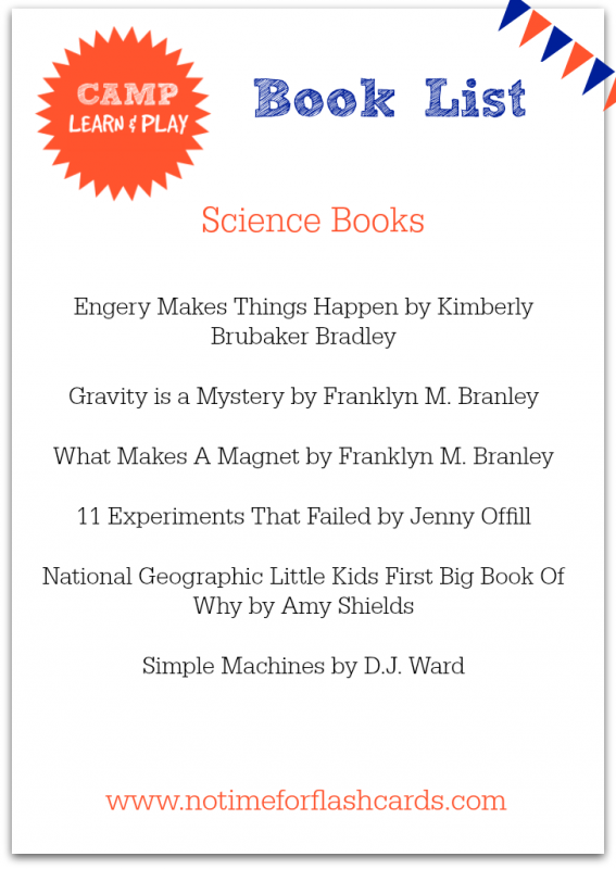 science books for kids printable list