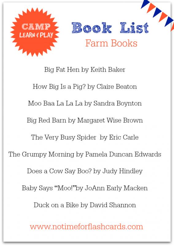 farm books for kids
