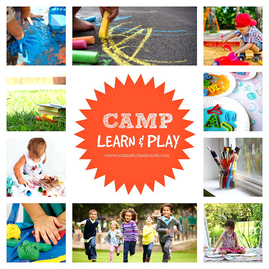 Free Summer Camp at Home! - No Time For Flash Cards