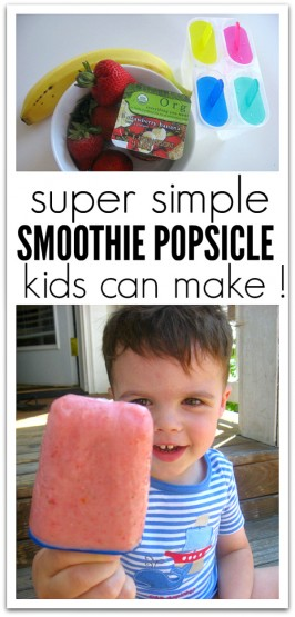 Cooking With Kids –  Smoothie Popsicle