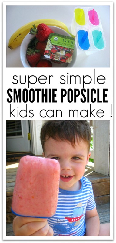 smoothie popsicle