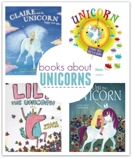 picture books about unicorns