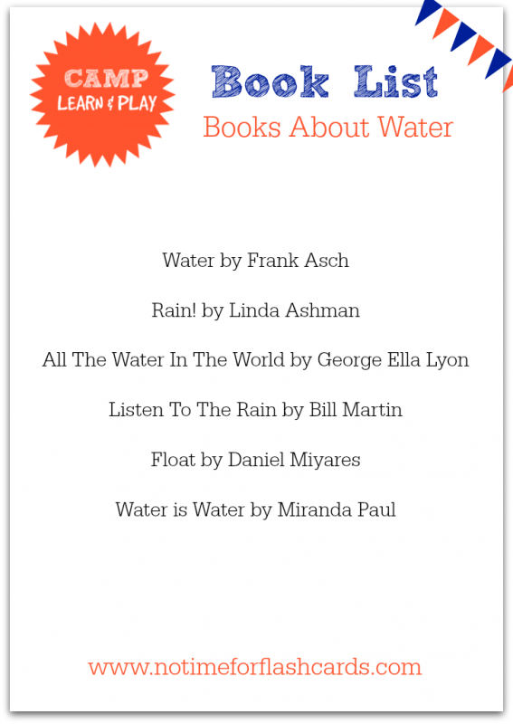 book list about water