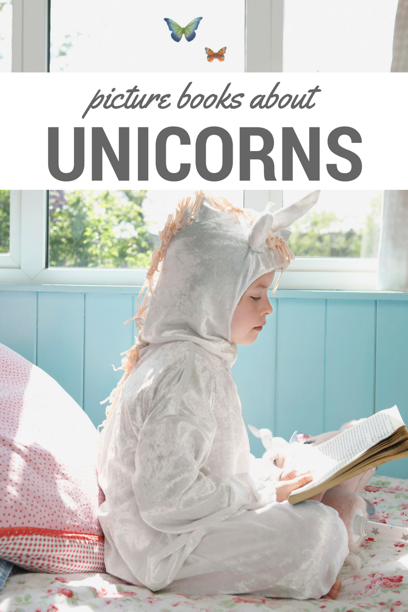 Books About Unicorns - No Time For Flash Cards