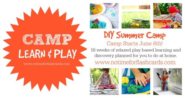 free summer camp at home no time for flash cards