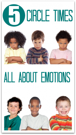5 Circle Time Lessons About Emotions