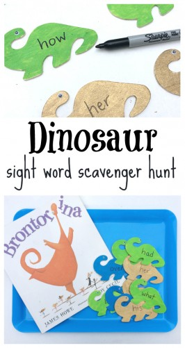 Read & Find Sight Words Activity