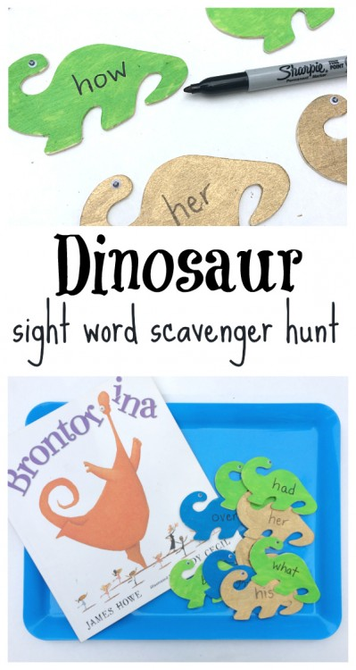 read & find sight words