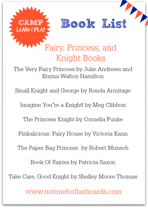 Princessbooks, fairy books, books about knights for kids.