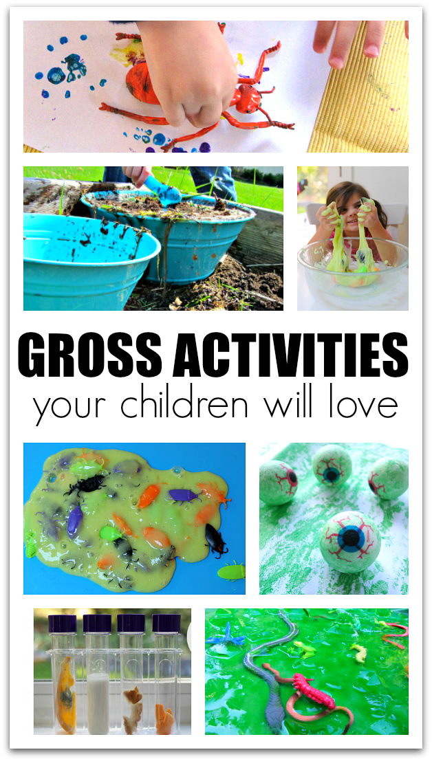 gross activities for kids