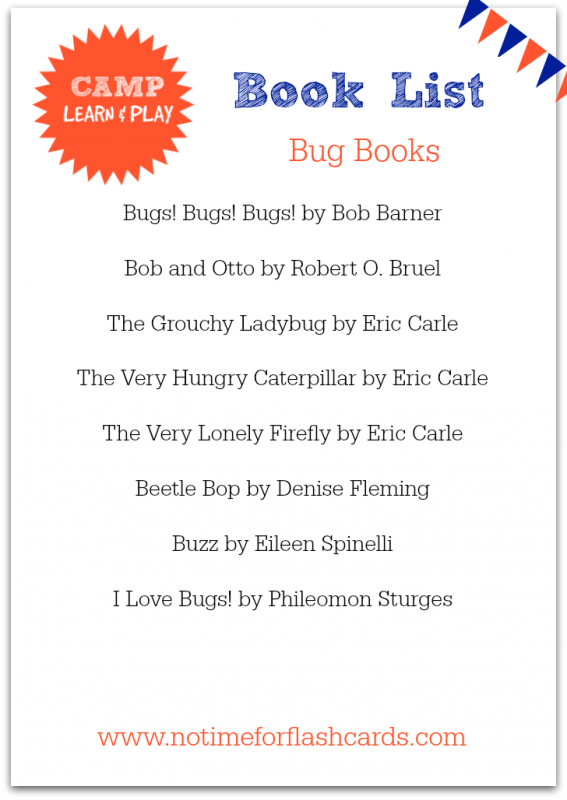 big books for kids printable list from no time for flash cards