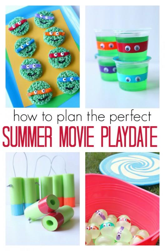 summer movie playdate