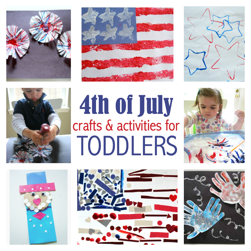 Fourth Of July Crafts For Toddlers No Time For Flash Cards