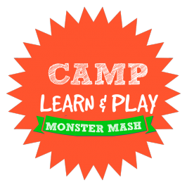 Camp Learn & Play  – Monster Week