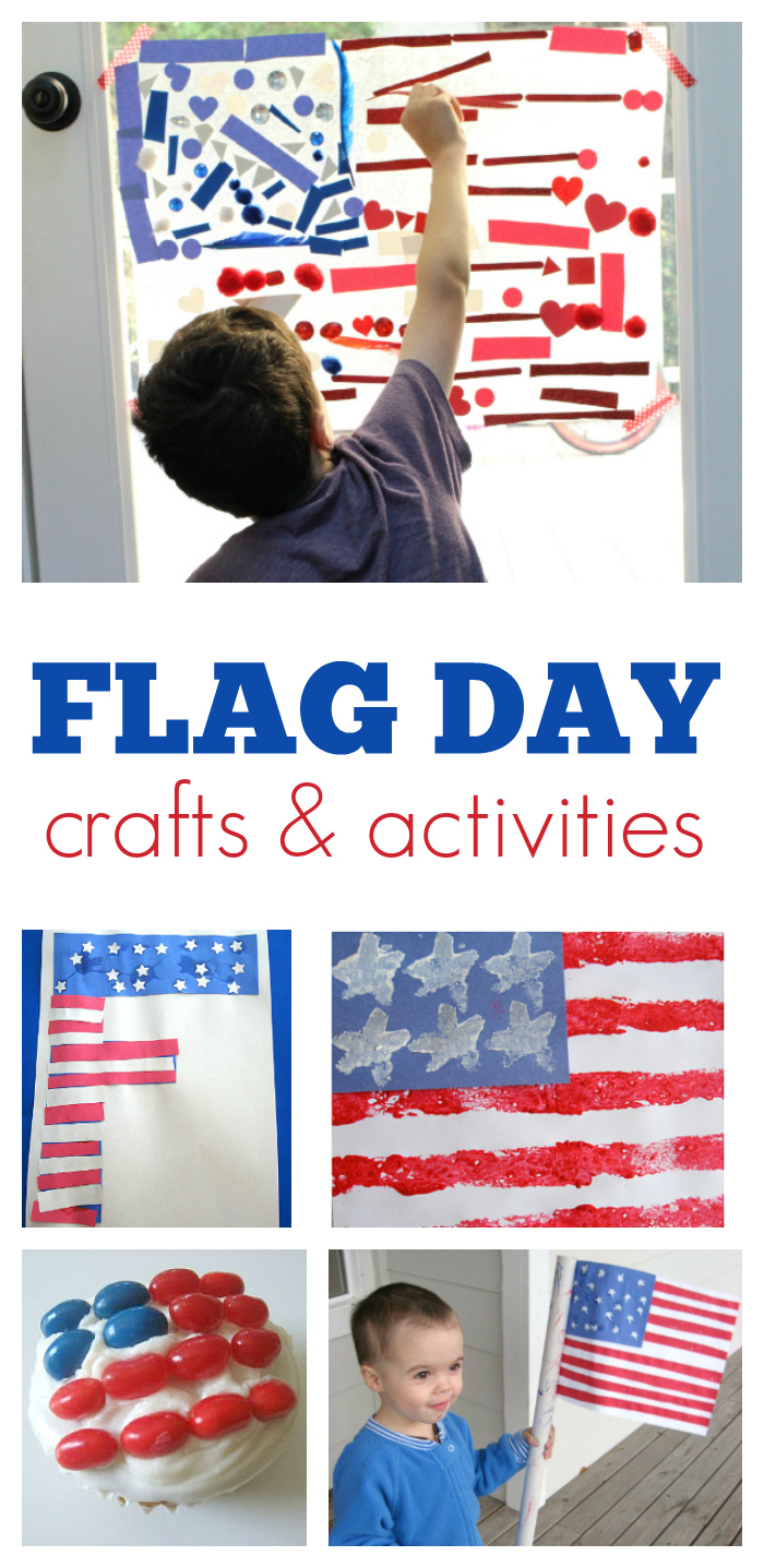flag day crafts for kids from no time for flash cards