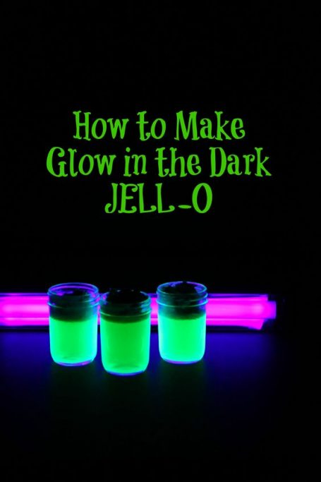 glow in the dark jello from momadvice