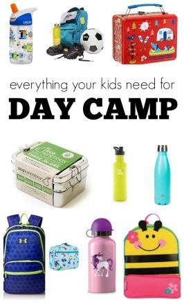 Must Haves For Summer Day Camp