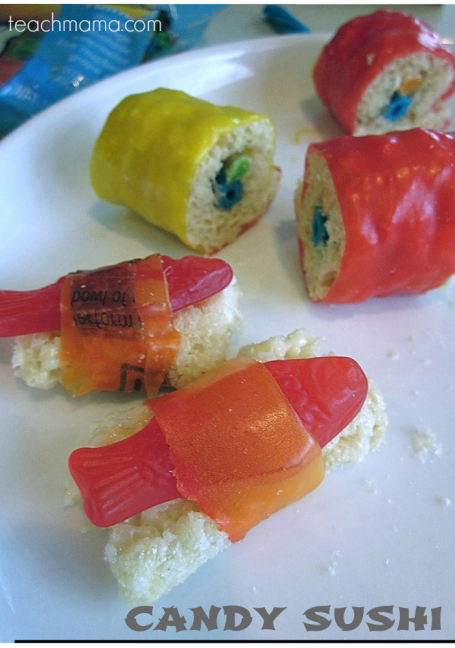 Candy Sushi from teachmama.com