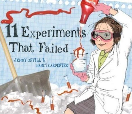 STEM books for kids 11 experiments that failed