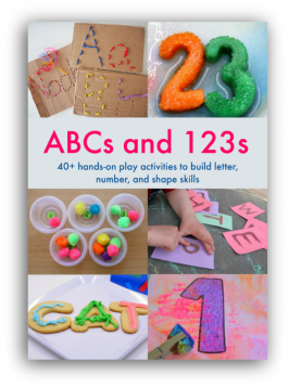 ABCs and 123s preschool education ebook