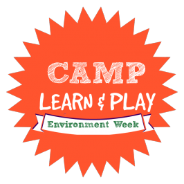camp learn and play logo week 8