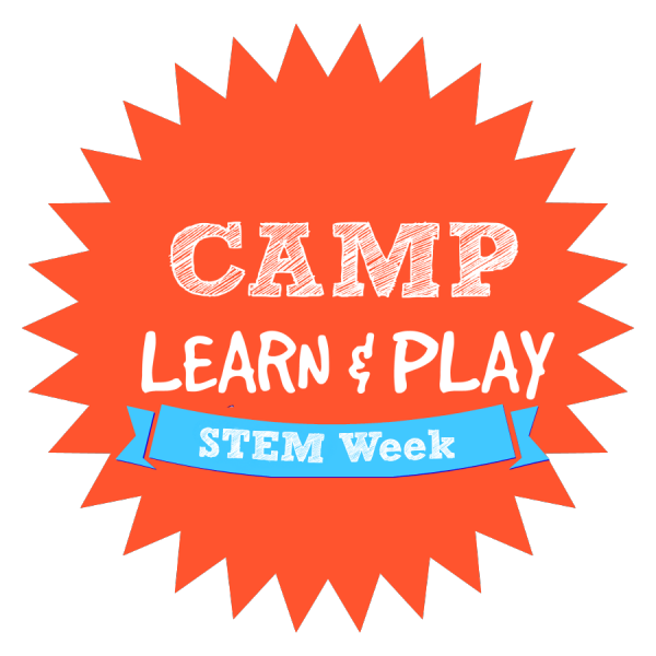 camp learn and play logo week 9